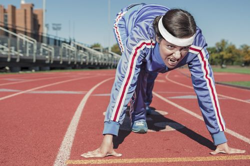 running sprint cinder-track