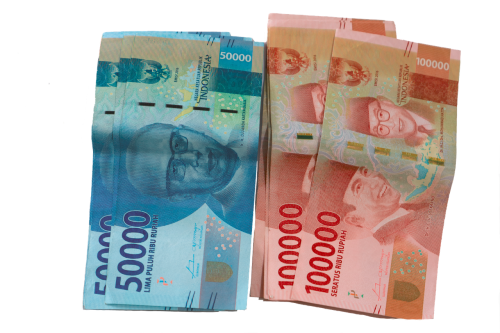 rupiah bills money