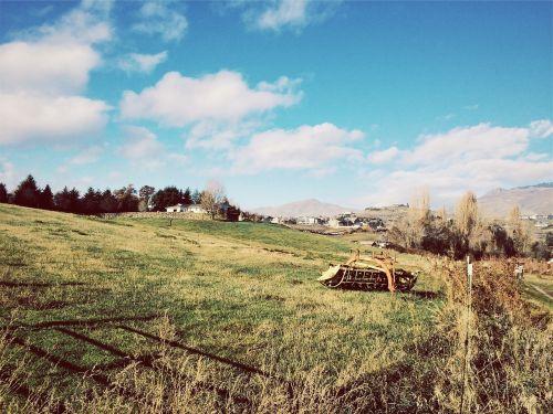rural houses grass