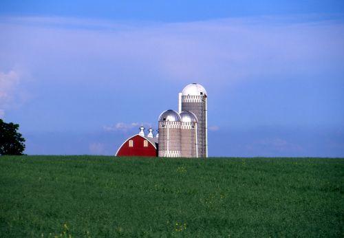 rural landscape farming barns