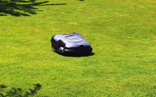 rush maintained lawn mower