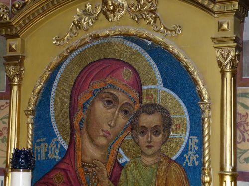 russia icon church