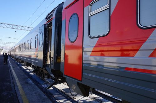 russia trans-siberian train winter