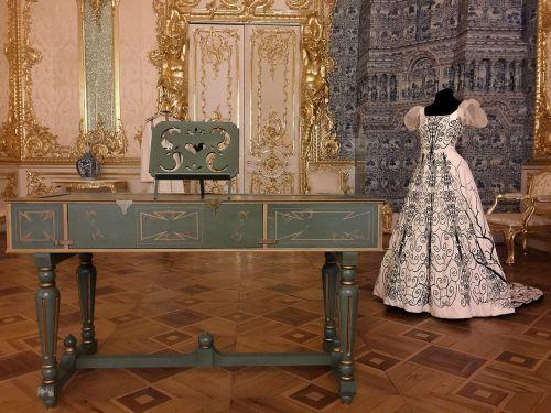 russia pouchkine harpsichord