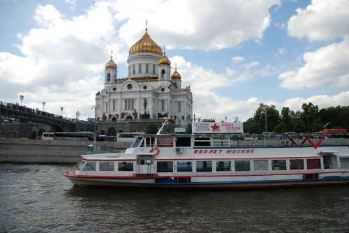russia moscow temple