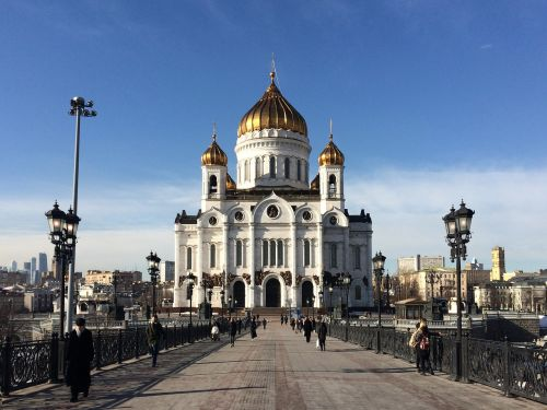 russia moscow onion domes