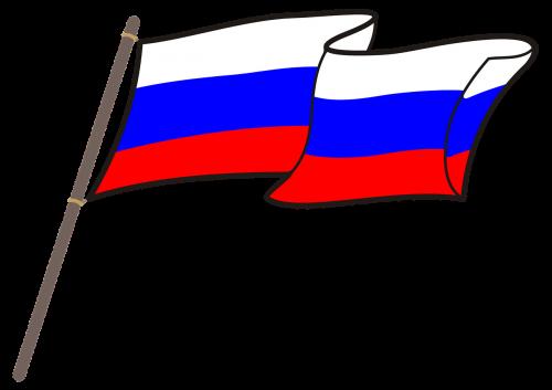 russia flag graphics