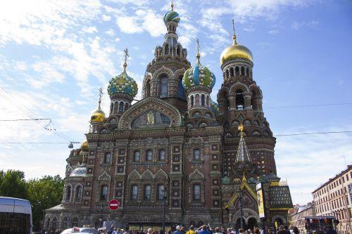 russia church of the resurrection saint-petersburg