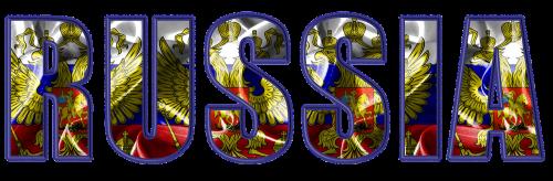 russia flag crest