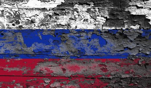 russia flag moscow