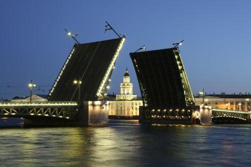 russia bridge petersburg