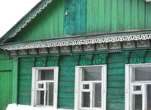 russia dacha wooden houses