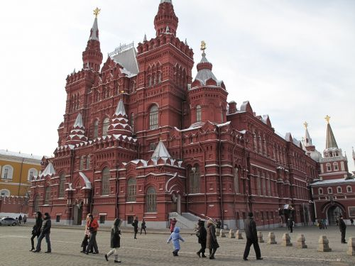 russia red square place