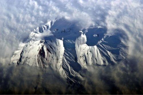 russia avachinsky volcano mountains