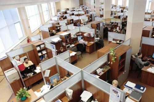 russia office men