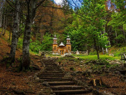 russian chapel vrsic pass slovenia