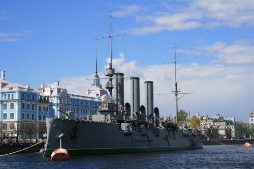 Russian Cruiser, The Aurora