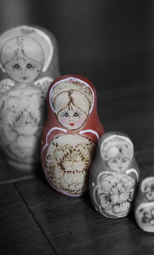 russian dolls  stand out  different
