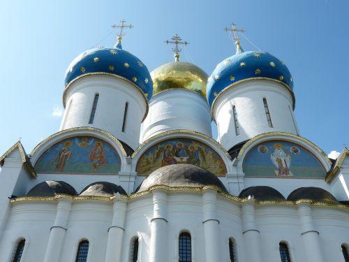 russian orthodox church sergiev posad russia