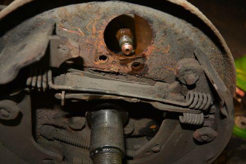 rust brake brake gear