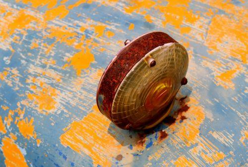 rust oxidized metal