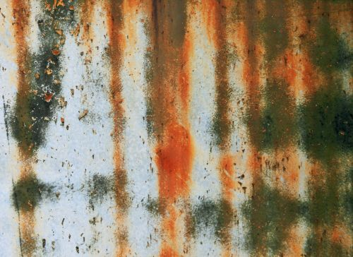 Rust Corrosion On Metal Door
