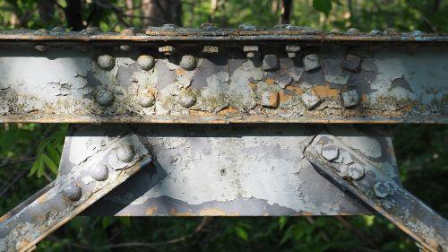 rusted bridge rusted bridge