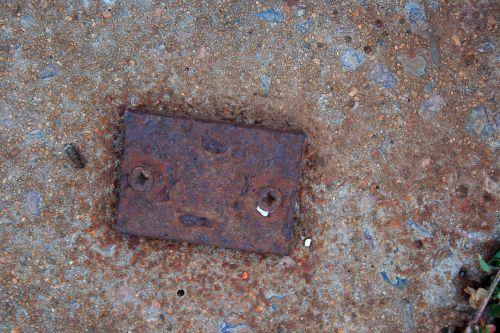 Rusted Metal Plate