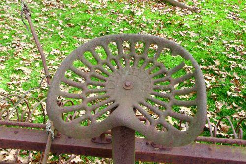 Rusted Metal Seat