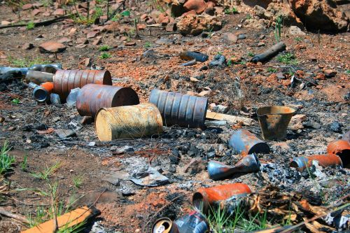 Rusted Tins And Ashes
