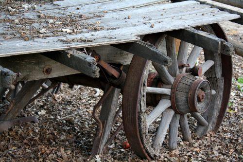 rustic wagon autumn