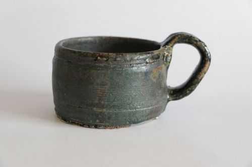 rustic cup handmade