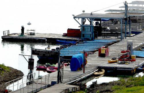 Rustic Lake Pier