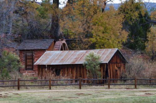 Rustic Watermill