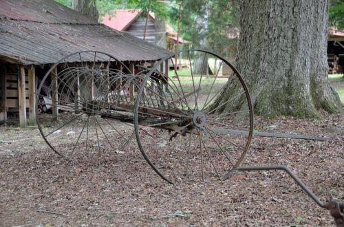 Rusty Farm Equipment