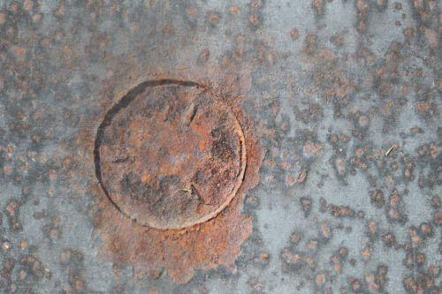 Rusty Metal Tiling Image