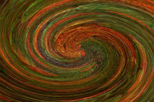 Rusty Swirl Background