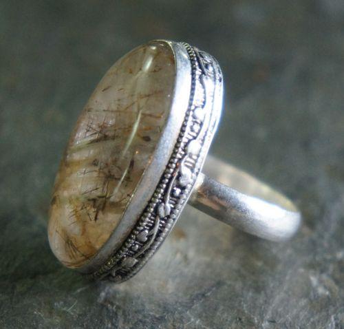 rutilated quartz quartz crystal