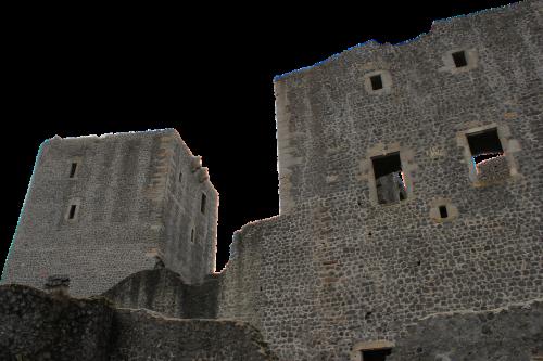 rye castle castle ruin