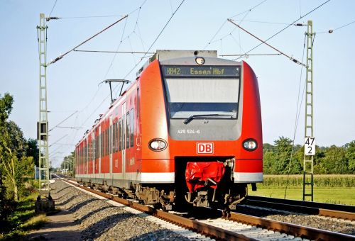 s bahn regional train münsterland