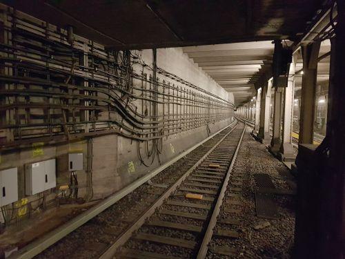 Underground Tunnel Berlin