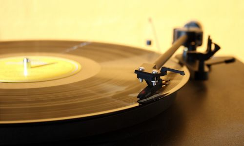 s record player turntable music