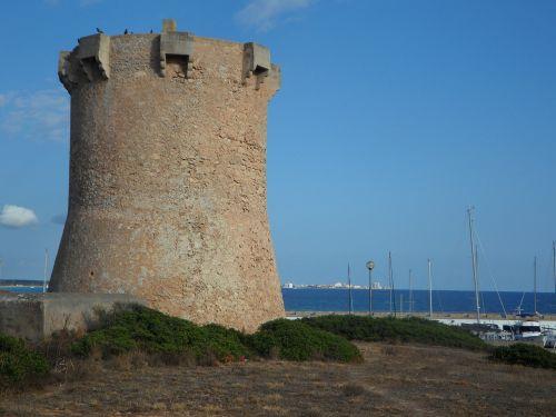 sa rapita tower stone tower