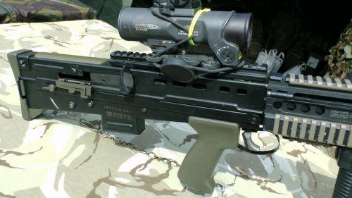 SA80 A2 Pistol Grip