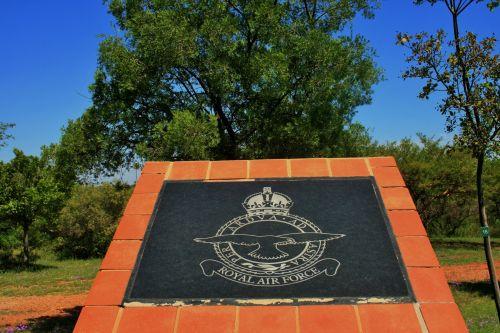 Saaf Memorial, Royal A/force Plaque