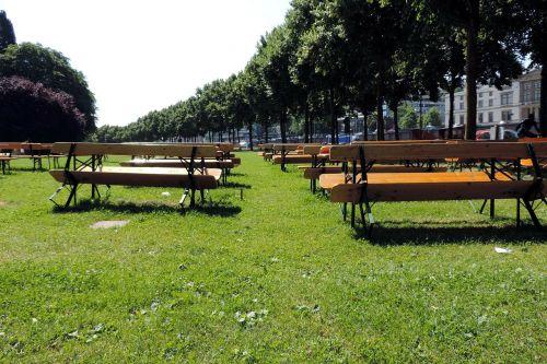 saarbrücken on the staden benches
