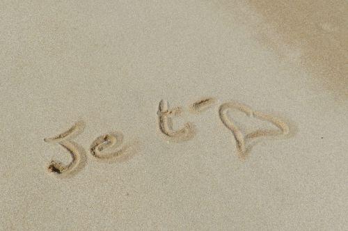 smėlis, piešimas, rašymas, & nbsp, meilė & nbsp, jums, smėlio piešimo rašymas