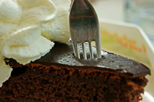 sacher cake cake sweet dish