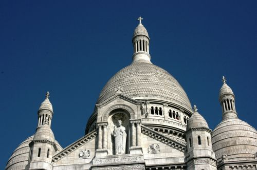 sacre coeur jesus christ dome of church