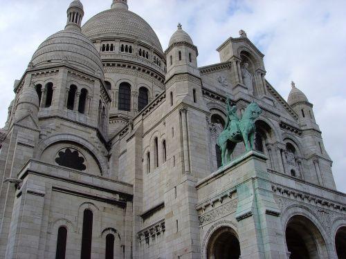 sacre coeur basilica montmartre church